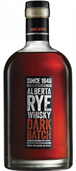 Alberta Rye Whisky Dark Batch